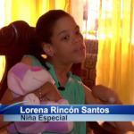 Limitaciones físicas no impiden a niña luchar por sus sueños