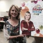 Nuria Piera celebra un cumpleaños muy especial