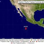 Tormenta Sandra se forma en Pacífico mexicano