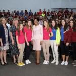 Primera Dama dictó conferencia sobre iniciativas contra violencia de Género
