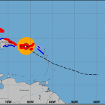 Evacuan familias de Isla Saona ante posible paso de huracán María