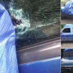 Hallan sangre y 71 tarjetas SIM en camioneta donde mataron a Yuniol Ramírez